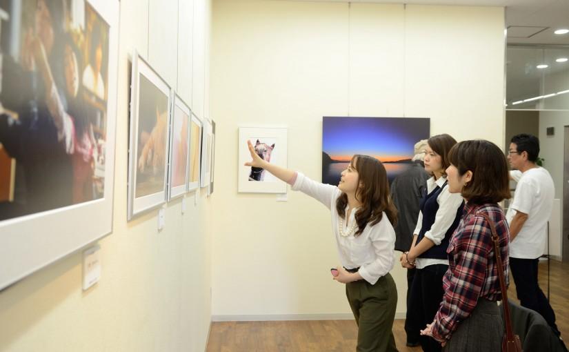 [写真] トッテ・ルーゼ写真展に初めて参加しました